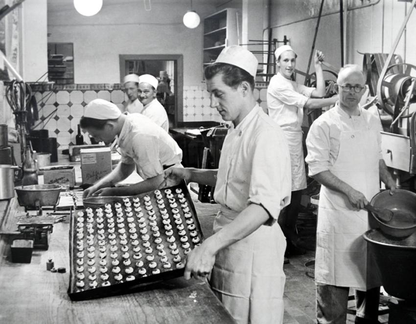 Konditorenstube Christiansen 1950