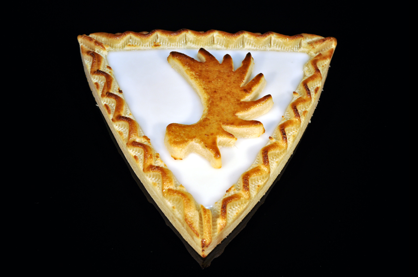 Königsberger Marzipan Torte - Dreieck - Elchschaufel Fondant 400 g