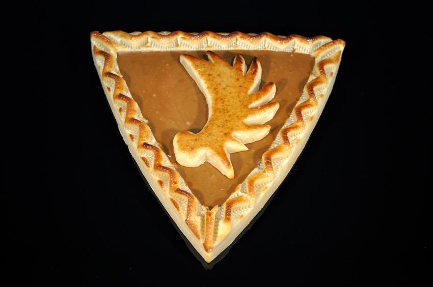 Königsberger Marzipan Torte - Dreieck - Elchschaufel Nougat 400 g