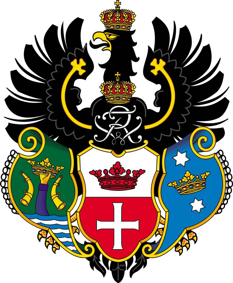Wappen von Königsberg / Ostpreußen